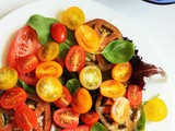 Simple Tomato Salad | Summer Salad Recipes