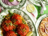 Tameta Reveya | Vegan Stuffed Tomato Curry Recipe from Kaushy's Prashad at Home