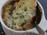 French Onion Soup on a snowy Seattle day