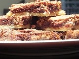 Ooeeyy Geewwyy Chocolate Pecan Pie Bars