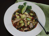 Quick and Easy Chicken Tortilla Soup