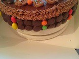 Naughty Chocolaty-Sweety Cake - Happy Birthday Leo