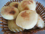 Sandwich Breads / Moroccan Mini-Toghrift or Mini-Batbout / Mini-Toghrift ou Mini-Batbout Marocain