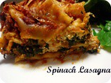 Spinach Lasagna - Slow Cooker Style