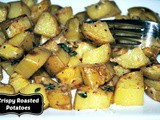 Crispy Yukon Gold Roasted Potatoes with Garlic and Thyme