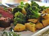 Do You Eat Your Broccoli? Roasted Sweet Potato and Broccoli Side Dish