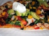 Got Leftover Chicken? Make a Mexican Pizza