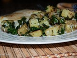 Kale and Yukon Gold Potatoes with Parmesan Cheese