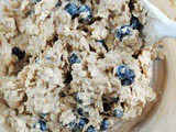 Lemon and Blueberry Oatmeal Cookie Recipe with Cinnamon and Walnuts
