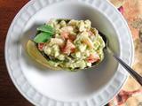 Mediterranean Shrimp Salad with Avocado and Feta Cheese