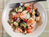 Panzanella Salad with Roasted Vegetables