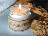 Peanut Butter Breakfast Cookies and an Old Factory Candles Giveaway