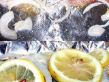 Rich Baked Wild Alaskan Salmon with Lemon and Dill