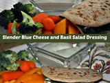 Slender Blue Cheese and Basil Salad Dressing