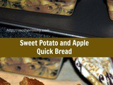 Sweet Potato and Apple Quick Bread