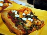Why Buy Pizza the Same Old Pizza! Try a Shrimp and Goat Cheese Pizza Instead