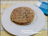 Cheese Paratha / Cheese Onion Paratha