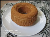 Cream Pound Cake / Fresh Cream Pound Cake / Fresh Cream Bundt Cake