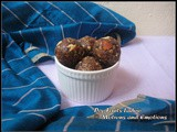 Dry Fruit Ladoo / Dates & Nuts Ladoo / Energy Balls