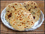 Garlic Naan / Garlic Naan with yeast / Garlic Naan on Stove Top