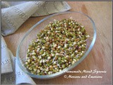 How to make Sprouts at home / How to make Mixed Sprouts at Home
