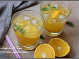 Orange Iced Tea / How to make Orange Iced Tea