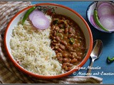 Rajma Masala or Rajma Curry or Red Kidney Bean Curry