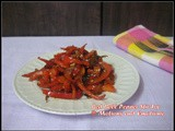 Red Bell Pepper Stir Fry