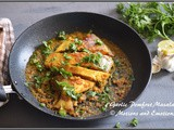 Restaurant Style Pan Fried Garlic Pomfret Masala
