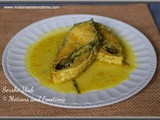 Sorshe Ilish or Hilsa in Mustard Gravy