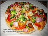 Three Pepper Pizza / Pizza with Bell Peppers