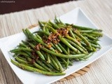 Asian Style Garlic Green Beans
