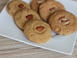 Eggless Cookies (with Whole Wheat flour or All Purpose flour)