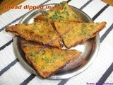 Bread dipped in egg~an healthy breakfast