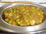 Green Peas & Potato in Mint Gravy
