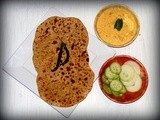 Bikaneri Channa Dal Paratha from Rajasthan - Flatbread stuffed with lentils