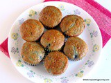 Blueberry Muffins – Eggless Blueberry Muffins