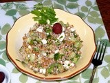 Bulgur Salad – a recipe from North Africa