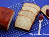 Buttermilk Bread – White Sandwich Bread - Egg Less White Bread Recipe