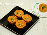 Carrot and Cheese Muffins – Savory Muffins (Egg less Recipe)