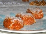 Carrot and Walnut Slices – Cezeriye (a Popular Turkish Dessert)