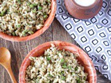 Chura Matar – Chooda Matar – Banaras Chooda Matar – Banaras Special Matar Poha – Flattened Rice with Green Peas
