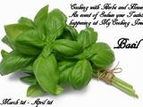 Event Announcement of Cooking With Herbs and Flowers - Basil