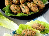 Mercimek Koftesi – Turkish Red Lentil and Bulgur Kofte - Vegan Kofte