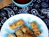 Mozzarella Sticks – Egg less and Baked Mozzarella sticks