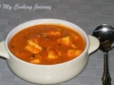 Paneer Butter Masala – Restaurant Style (Cottage cheese simmered in rice creamy gravy)