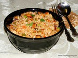 Paneer Fried Rice – Indo-Chinese Style Paneer Fried Rice