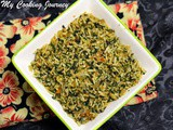 Spinach Rice – Lahsuni Palak Rice