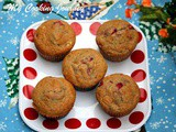 Strawberry Muffins – Egg Less