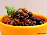 Warm Black Bean Salad – Mexican Black Bean Salad